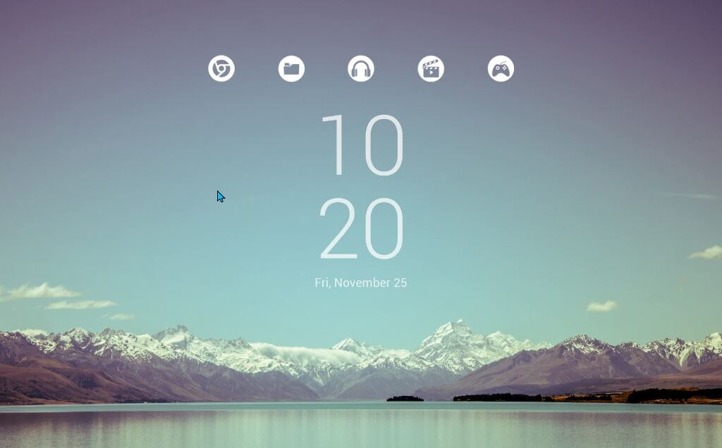 Ultra Light Rainmeter Launcher V1.0.1