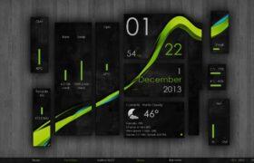 Wisp Rainmeter Launcher V2.4.4