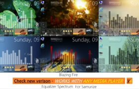 Equalizer Spectrum Winamp Rainmeter