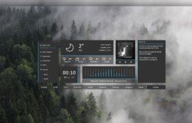 NUXHD Rainmeter Launcher 1.1