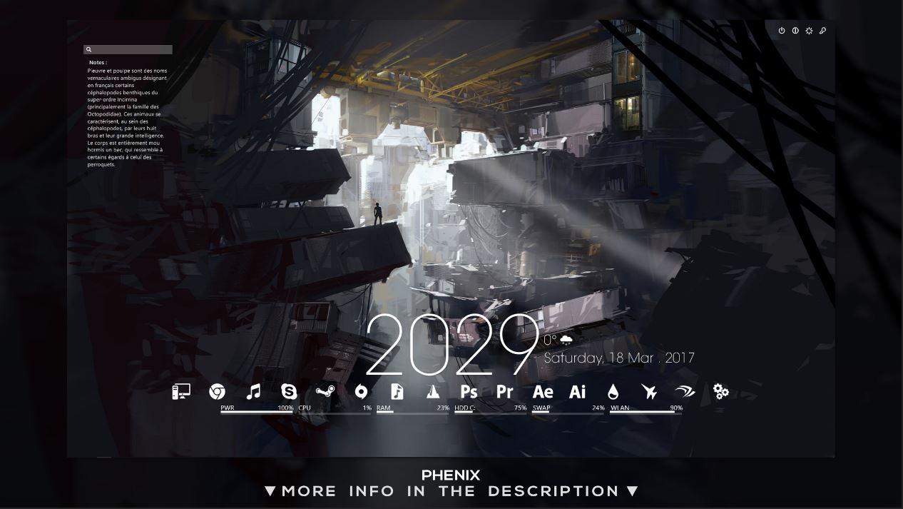 Phenix Theme Version 1.2f