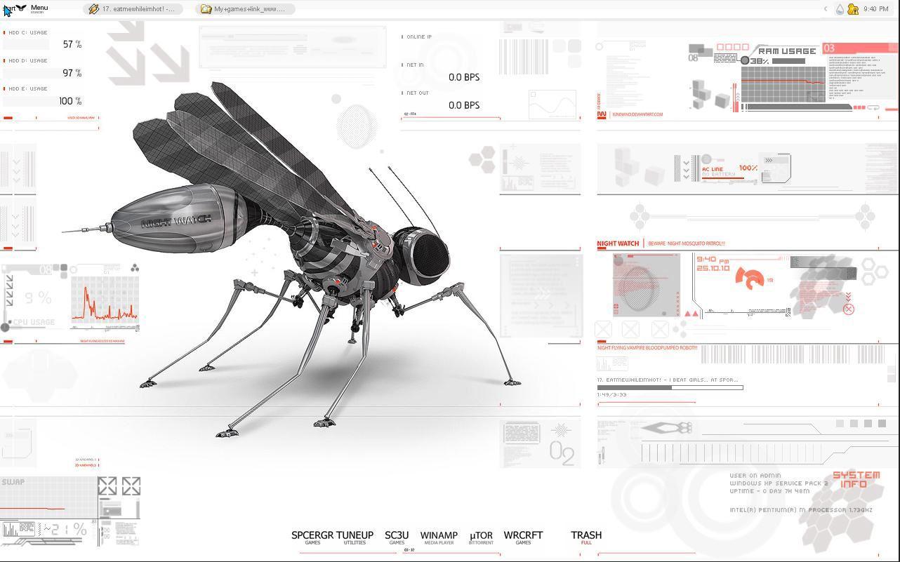 ProjeKT NightWatch for Rainmeter