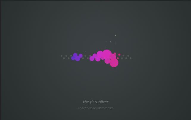 The Fizzualizer Rainmeter Visualizer Skin