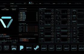 X2 2.2 UI Rainmeter Theme HUD